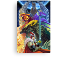 The Dragonmaster Canvas Print