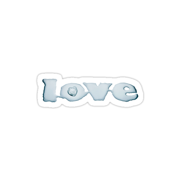 Love Says It All - T-Shirt by Andrew Bret Wallis