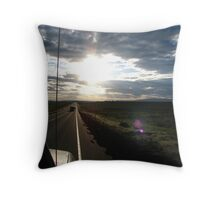 On The Road Of Beauty and Wonder (best viewed larger) Throw Pillow