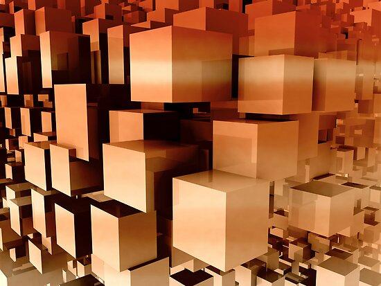 Cloud cubes by Honeyboy Martin