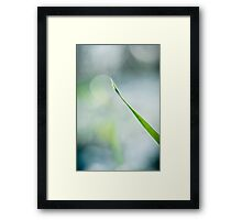 The Blade and The Moon  Framed Print