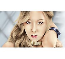 SNSD Taeyeon Photographic Print
