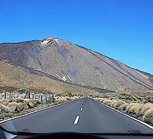 On the road to Teide- Canary Island by gluca
