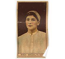 Benjamin K Edwards Collection Zack Wheat Brooklyn Dodgers baseball card portrait Poster