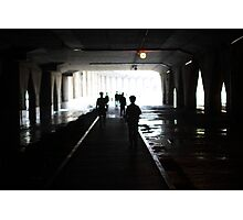 Under the Underpass Photographic Print