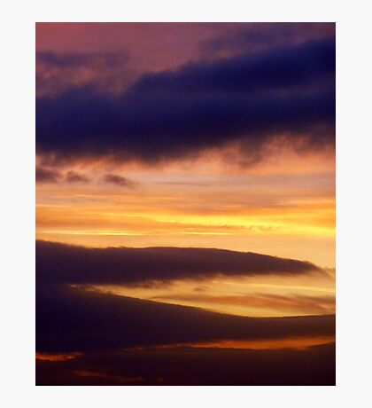 Tequila Sunset Photographic Print