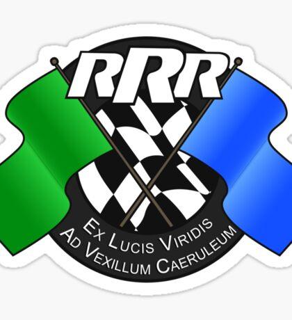 Really Rubbish Racing Club Crest Sticker