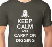 Diglett - Keep Calm and Carry on Digging Unisex T-Shirt