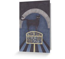 At the Iron Gates Greeting Card