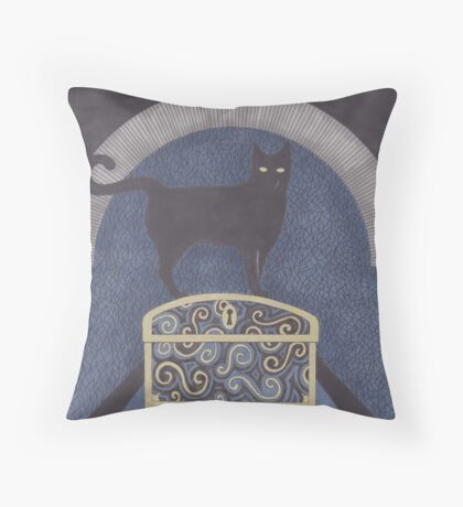 At the Iron Gates Throw Pillow