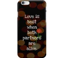 Love is best - phone skin iPhone Case/Skin