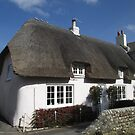 Thatched Cottage, Wareham, Dorset, England by MagsWilliamson