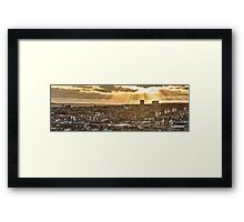 Sheffield Skyline Panorama Framed Print