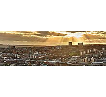 Sheffield Skyline Panorama Photographic Print