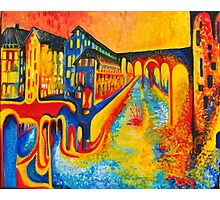 street of colours Photographic Print