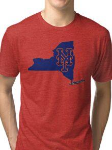 Mets Over Yankees Tri-blend T-Shirt