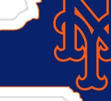 Mets Over Yankees Sticker