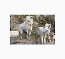 Some Arctic Wolves at play Unisex T-Shirt
