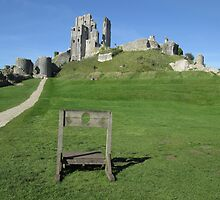 Corfe Castle (2), Dorset, England by MagsWilliamson