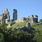 Corfe Castle (3), Dorset, England by MagsWilliamson