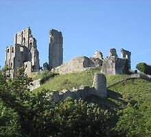 Corfe Castle (3), Dorset, England by MagsWilliamson