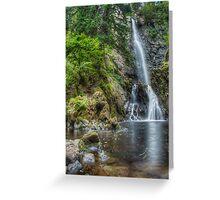 Plodda Falls Greeting Card