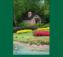 English Style Cottage With Pond In Orlando Florida T-Shirt