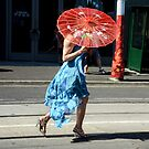 Red Umbrella by patcheah