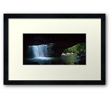 Natural Bridge, Springbrook National Park, Qld, Australia Framed Print