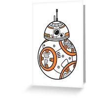 BB8 Greeting Card