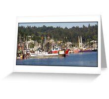 Newport Marina Greeting Card