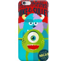 The Comic Renditions of Mike &  Sulley iPhone Case/Skin