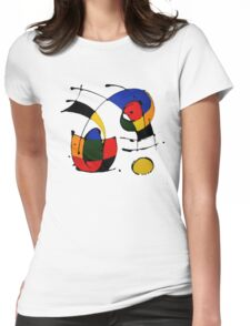 Joan Miro Womens Fitted T-Shirt
