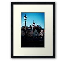 Old Town. Framed Print