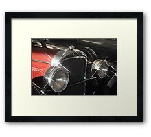 Nash Flash Framed Print