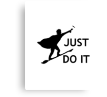 Harry Potter Just Do It Canvas Print