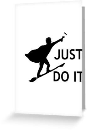 Harry Potter Just Do It by swayzeneesha
