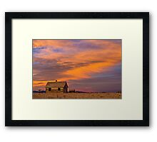Little House On The Colorado Prairie 2 Framed Print