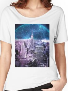 Another World Another City  Women's Relaxed Fit T-Shirt