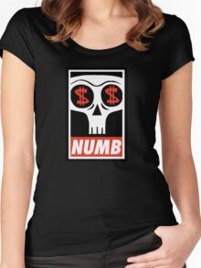 Obey the Numb$kull Women's Fitted Scoop T-Shirt