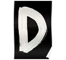 Dalecarlian Runes 1500 to 1800 d 001 Inverted Poster