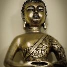 Golden buddha by Sarah Horsman