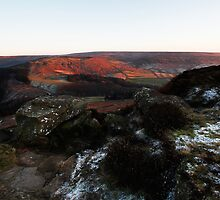 Last light on Urra Moor by PaulBradley