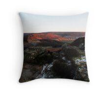 Last light on Urra Moor Throw Pillow