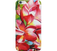 Frangipani Morning iPhone Case/Skin