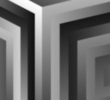 SuperCollider mild mannered cube shirt Sticker