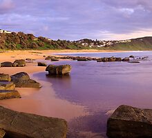 Forresters Beach Dawn, New South Wales, Australia by Michael Boniwell