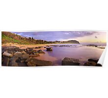 Forresters Beach Dawn, New South Wales, Australia Poster