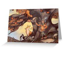 Autumn Hunt Greeting Card