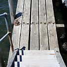 Mooring jetty by Maggie Hegarty